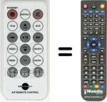 Replacement remote control AMETHYOT AIP
